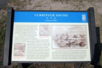 Currituck Sound CWT Marker image. Click for full size.