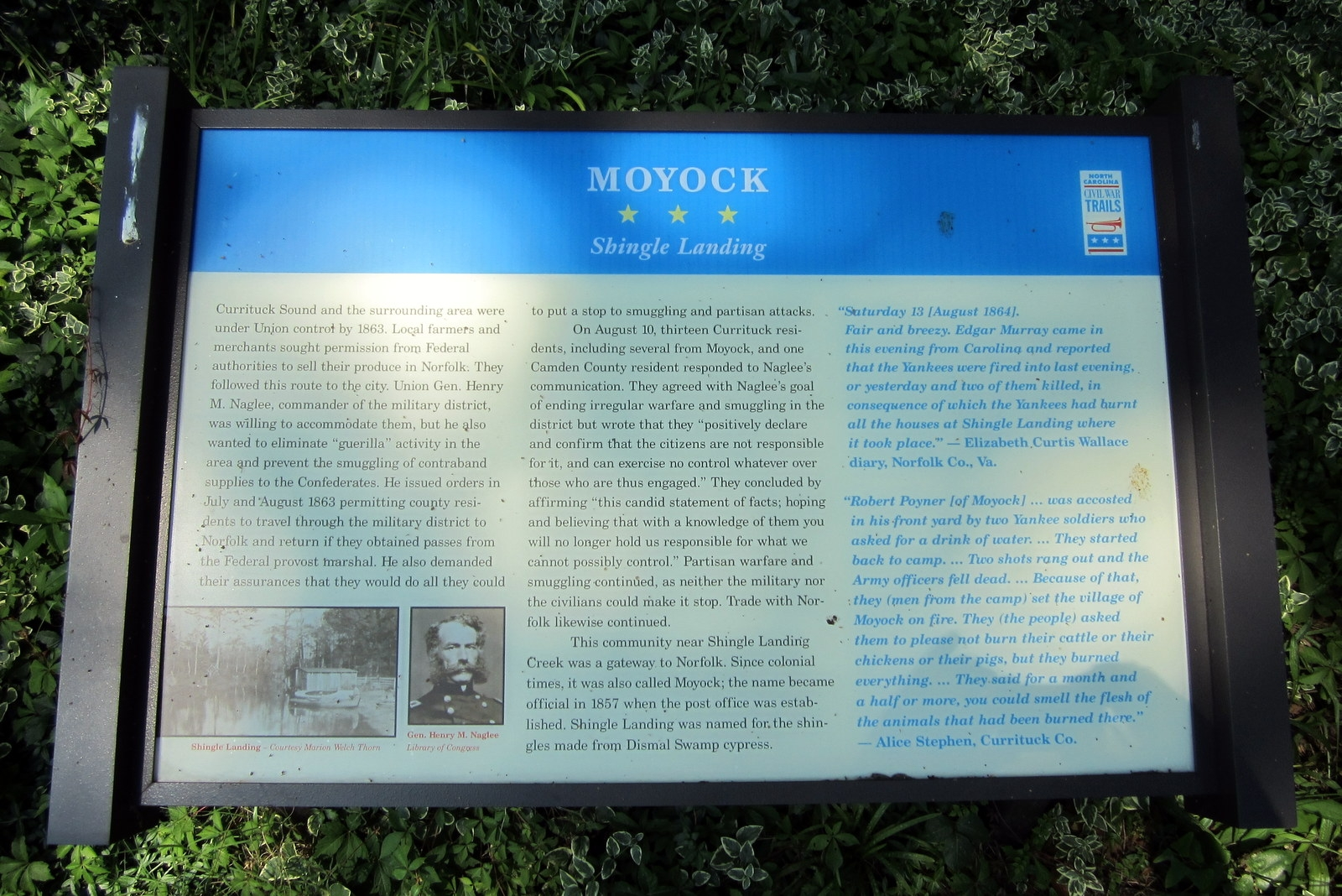 Moycock CWT Marker