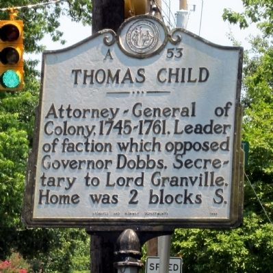 Thomas Child Marker image. Click for full size.