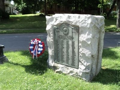 Stillwater World War I Memorial image. Click for full size.