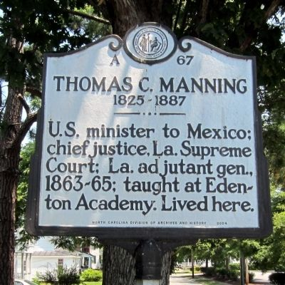 Thomas C. Manning Marker image. Click for full size.
