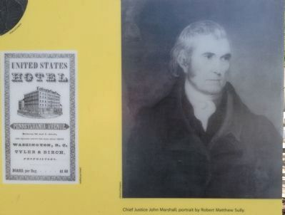 Chief Justice John Marshall image. Click for full size.