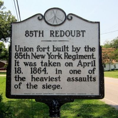 85th Redoubt Marker image. Click for full size.
