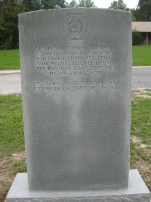"Lt. Gen. Thomas J. ""Stonewall"" Jackson Memorial image. Click for full size."