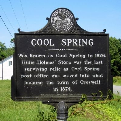 Cool Spring Marker image. Click for full size.