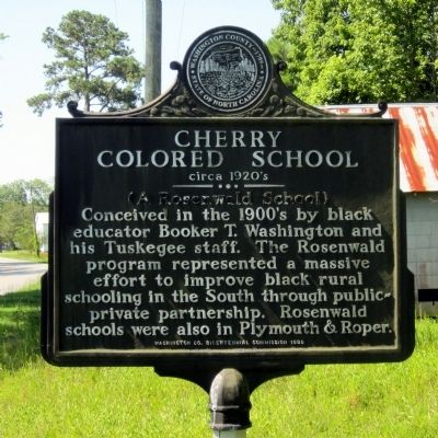 Cherry Colored School Marker image. Click for full size.