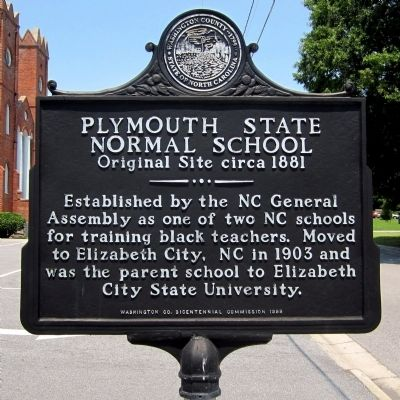 Plymouth State Normal School Marker image. Click for full size.