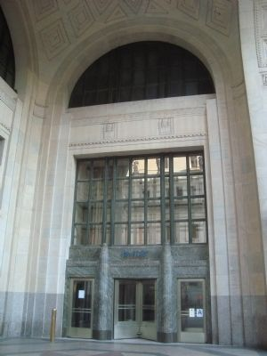 Entrance to the Appellate Division of the Supreme Court image. Click for full size.