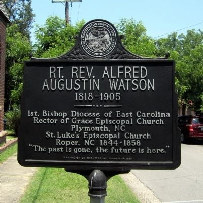 Rt. Rev. Alfred Augustin Watson Marker image. Click for full size.
