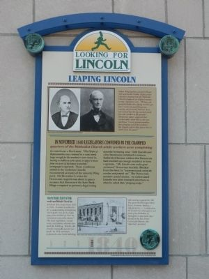 Leaping Lincoln Marker image. Click for full size.