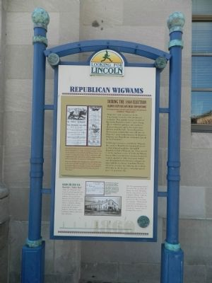Republican Wigwams Marker image. Click for full size.