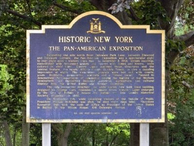 The Pan-American Exposition Marker image. Click for full size.
