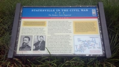 Statesville in the Civil War Marker image. Click for full size.