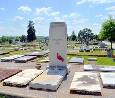 Brigadier General Henry Lewis Benning's Grave image. Click for full size.