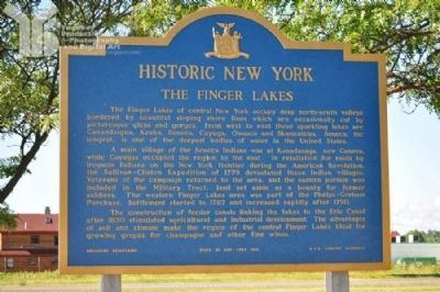 The Finger Lakes Marker image. Click for full size.