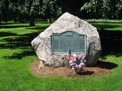 Guilford World War I Monument image. Click for full size.