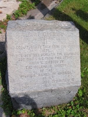Fort Casimir Marker image. Click for full size.