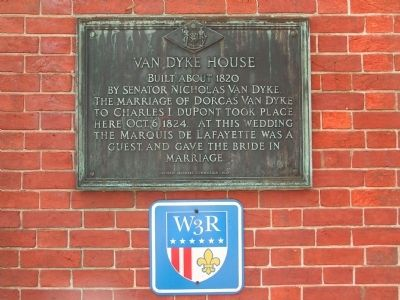 Van Dyke House Marker image. Click for full size.