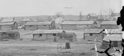 Confederate Winter Quarters image. Click for full size.
