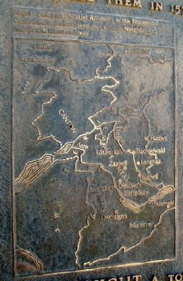 Anabaptist - Mennonite Faith & Life Marker Map 1 image. Click for full size.