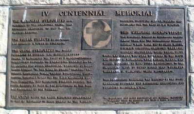 Centennial Memorial Marker image. Click for full size.