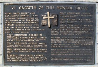 Growth of This Pioneer Group Marker image. Click for full size.
