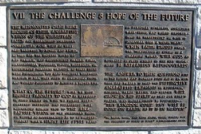 The Challenge & Hope of the Future Marker image. Click for full size.