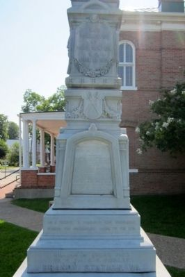 Tyrrell County Confederate Monument (side 2) image. Click for full size.