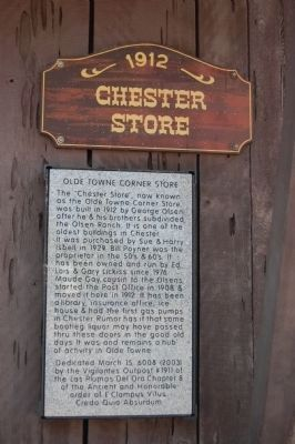 Olde Towne Corner Store Marker image. Click for full size.