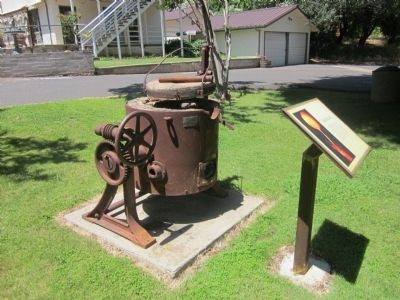 The Gold Furnace and Marker image. Click for full size.