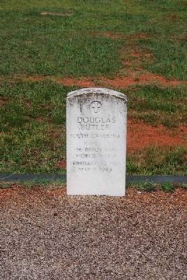 Douglas Butler Tombstone image. Click for full size.