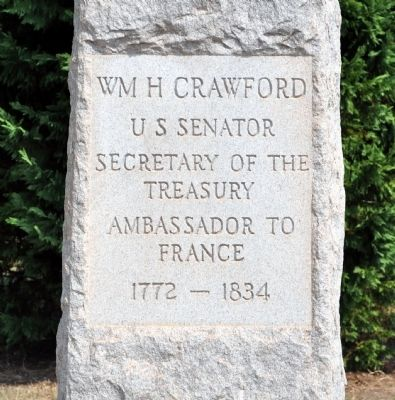 Wm H Crawford Marker image. Click for full size.