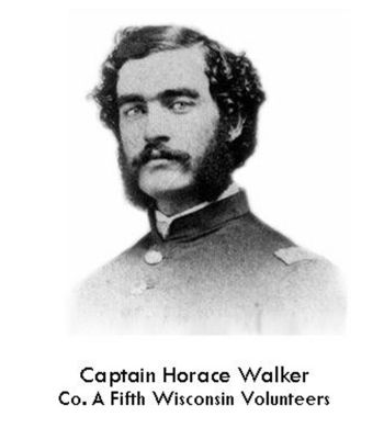 G.A.R - H.M. Walker Post 18 Marker image. Click for full size.