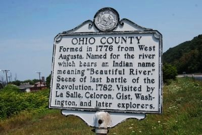 Ohio County Marker image. Click for full size.