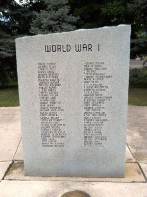 Manitowoc County Veterans Memorial Park Marker image. Click for full size.