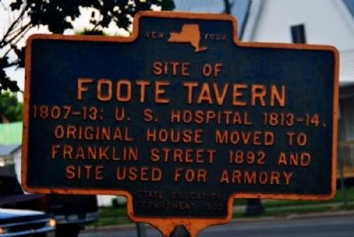 Foote Tavern Marker image. Click for full size.
