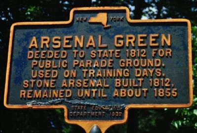 Arsenal Green Marker image. Click for full size.