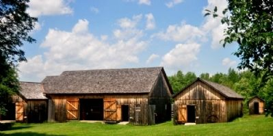 Almanzo Wilder Outbuildings image. Click for full size.