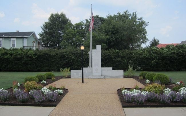Colonial Heights War Memorial image. Click for full size.