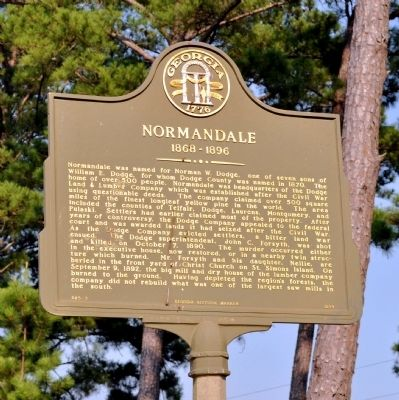 Normandale Marker image. Click for full size.