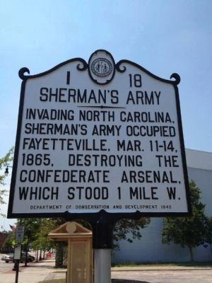 Sherman's Army Marker image. Click for full size.