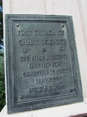 Secondary Marker on side of church image. Click for full size.