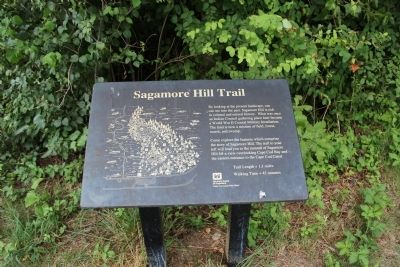 Sagamore Hill Trail Marker image. Click for full size.