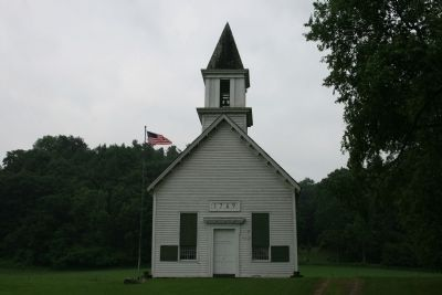 Mohawk Upper Castle Church image. Click for full size.