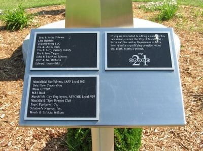 Donor Recognition Plaques image. Click for full size.