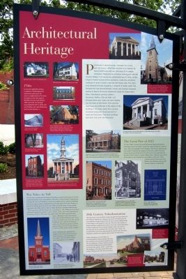 Architectural Heritage Marker image. Click for full size.