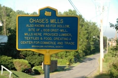 Chase's Mills Marker image. Click for full size.