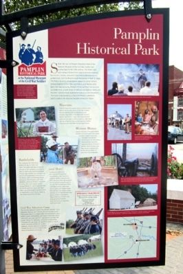 Pamplin Historical Park Marker image. Click for full size.