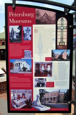 Petersburg Museums Marker image. Click for full size.