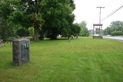 Site of Fort Herkimer Marker image. Click for full size.